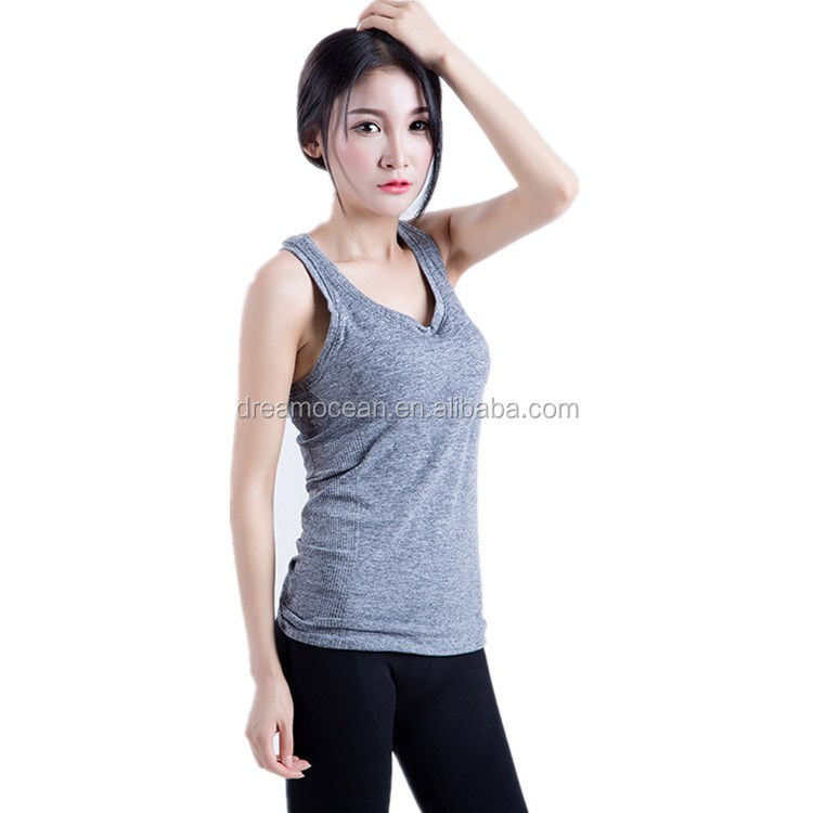 Women Sport running Shirts Hot Yoga And Fitness Vest Female Workout Bra Sportswear Training Tops I back Outdoor Yoga T Shirts