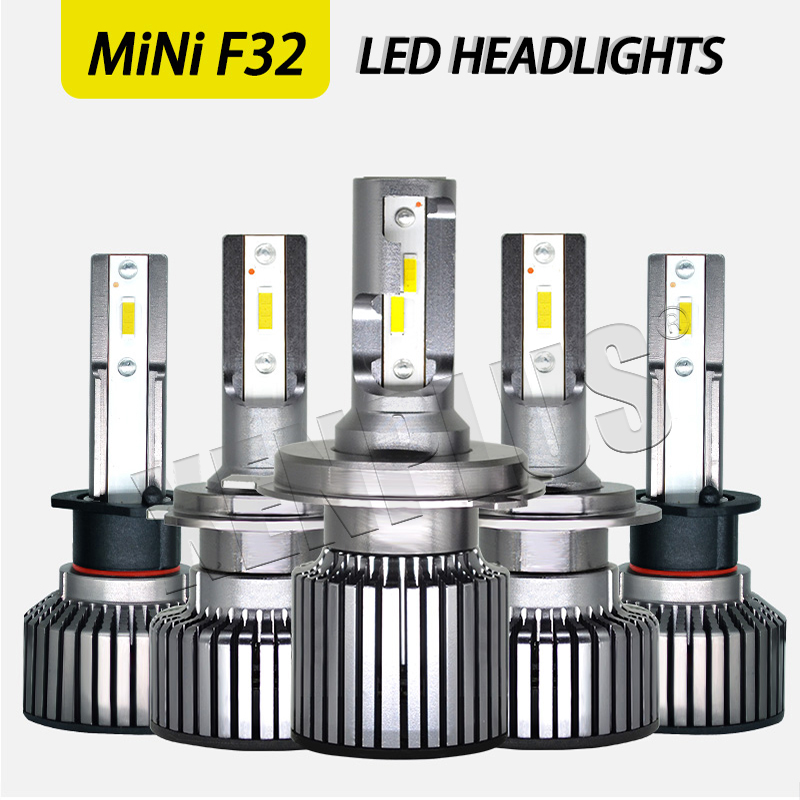 New led headlight Mini F32 small size high quality 8000lm