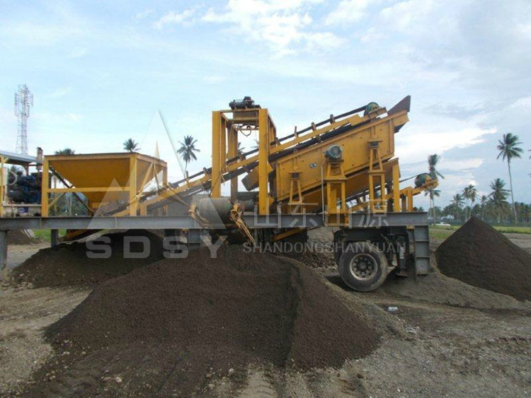 portable and mobile crushers