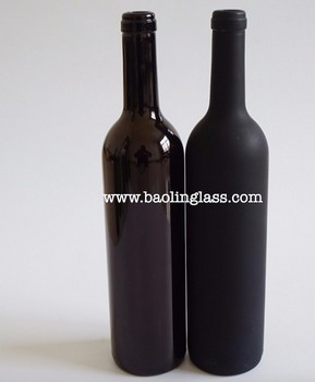 750ml black color red wine glass bottles buy glass for Red glass wine bottles suppliers