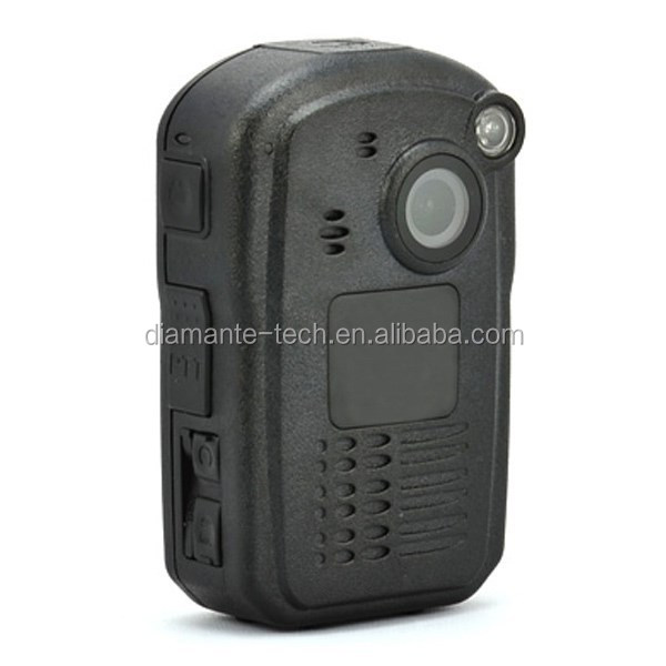 built-in GPS police body worn video camera DMT-3