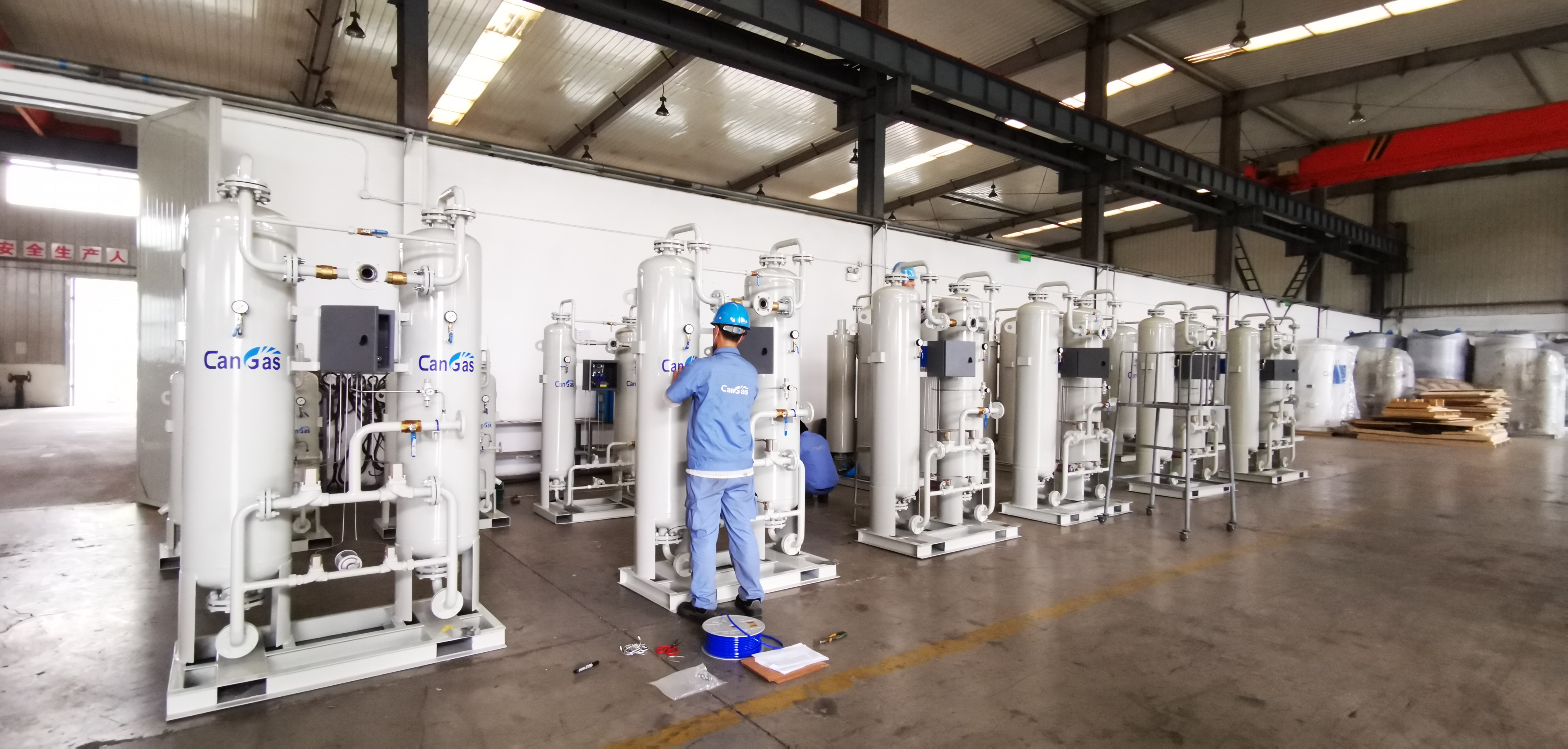 CAN GAS Onsite Fully automatic control PSA medical Oxygen generator plant - KingCare   KingCare.net