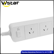 Multi-Function Extension socket 3 AC outlets four USB charging ports AU pulg C610-A