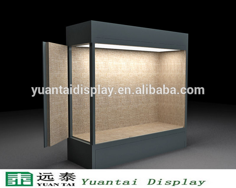 Glass Vitrine Display Cabinet For Museum Professional