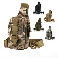 Tactical MOLLE shoulder Sling Chest bag for hunting Outdoor sports