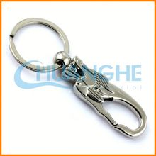 Made in china exquisite key chain plastic coil
