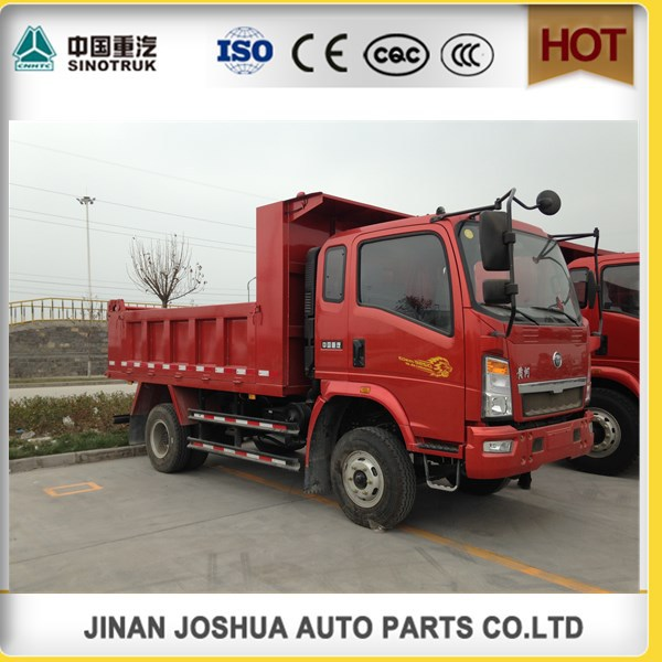 china heavy duty truck sinotruck howo 4x2 299hp dump truck/used trailer dump