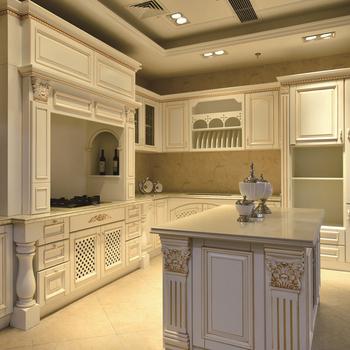 Italian Style Modular Kitchen Cabinets Antique Furniture Wood Buy