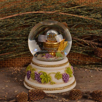 Nativity set crystal ball resin crafts religious crafts