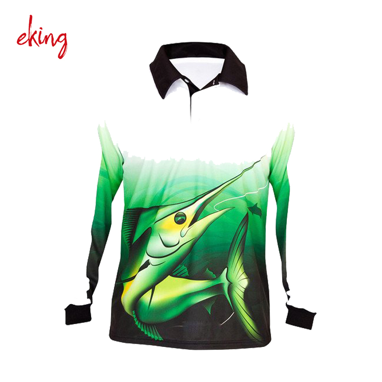 best quality long sleeve uv protect quick fit fishing T shirt