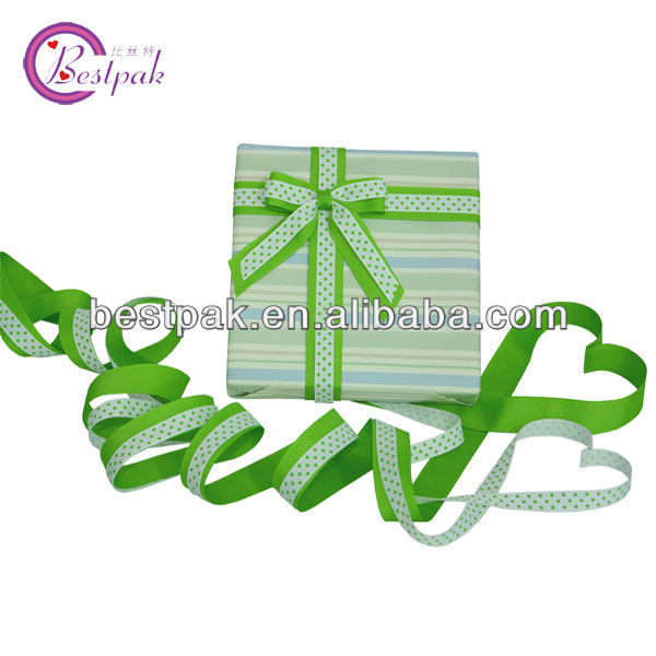 double faced elastic tape ribbon bows,gift ribbon bows with stickers