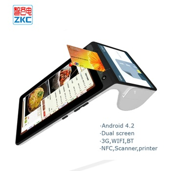 Zkc900 Android Tablet Pos Terminal Qr Code With 3g Wifi Nfc Printer - Buy  Tablet Pos Termianl,Android Nfc Pos,Android Pos Terminal Product on