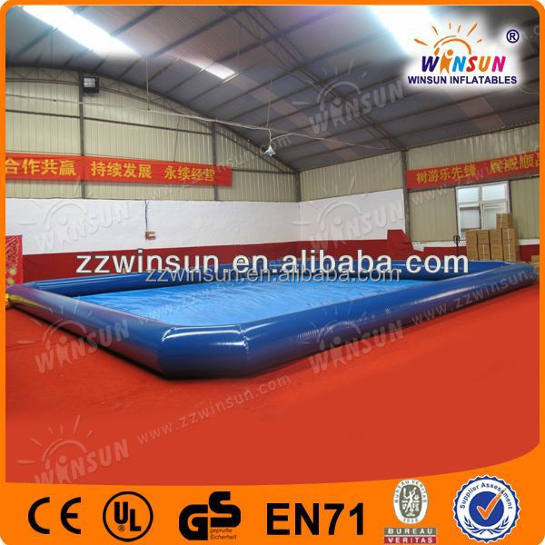 Multi function inflatable padding pool