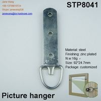 metal steel picture photo frame hanger
