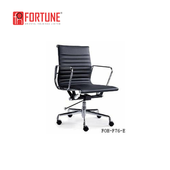 Black Color Chair Office Hotel Room Desk Chairs Foh F76 E