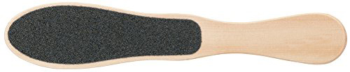 Personalized Callus Remover heel Natural Pumice Curved Wooden Foot File