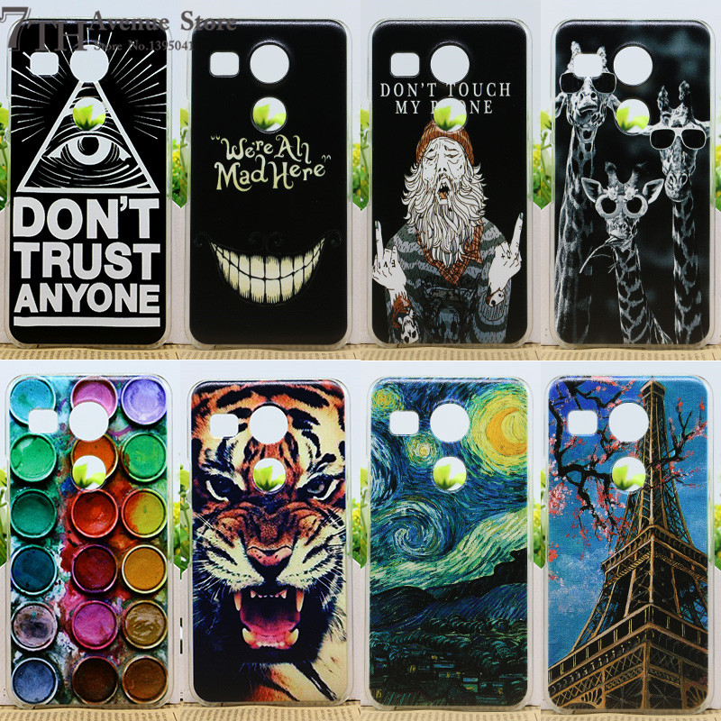 New Arrival Fashion Perfect Design Case For LG Angler H79 Nexus 5X 5.2 inch Phone Cases For LG Nexus 5X Back Cover