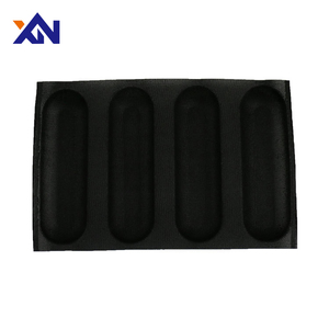 Custom silicone bread form precise black bear cake mould with long life