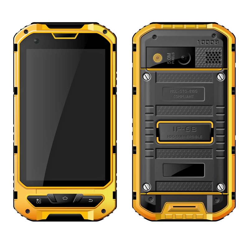 Cheapest factory 4 inch NFC rugged phone IP68