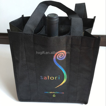 Eco Six Bottles Wine Ng Non Woven Promotion Bags