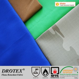 Cotton Polyester Fireproof carbon fiber Antistatic oil Waterproof Fabric