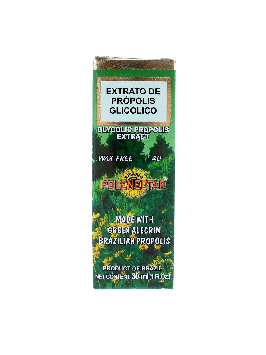 Polenectar Brazil Premium Bee Propolis Extract Wax Free 40 (30ml)