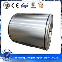 Skinpassed Spangle Zinc90g Galvanized Steel Coil for Building