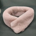 Fashion hot sale rex rabbit fur scarf color
