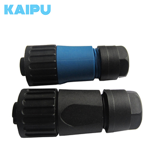 Durable ip67 electrical waterproof dc power connector plugs