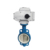 18 Tahun Produsen DN50 2 Inch Air Flow Control ELECTRIC Actuator Butterfly Valve