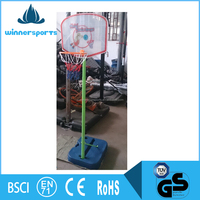Children Mini Portable Foldable Basketball Stand Hoop for Kids Game