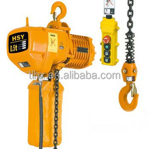 factory price HSY chain electric hoist /electric chain hoist lift build construct equip portable power
