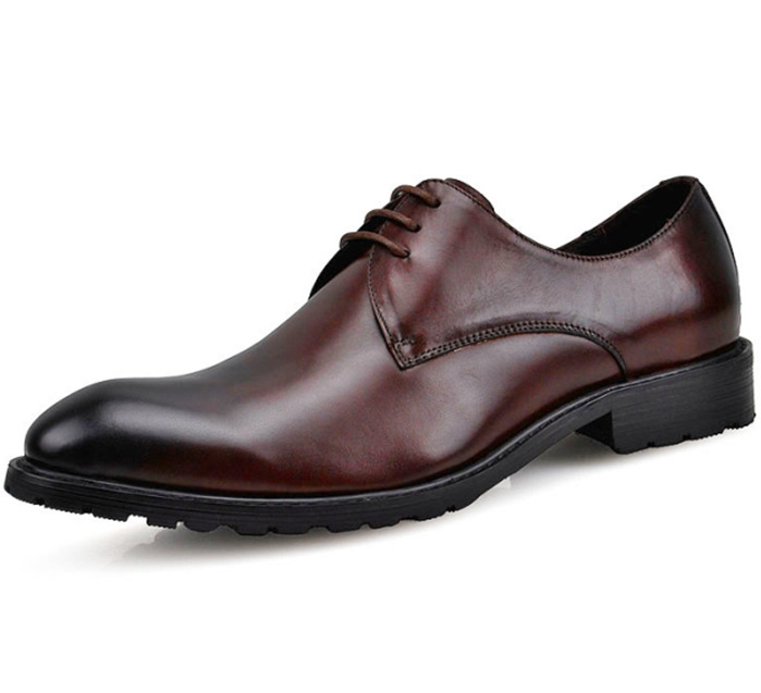 Get Quotations · Fashion Burgundy  Black mens wedding shoes oxfords genuine  leather mens business shoes new mens dress 746c554a6