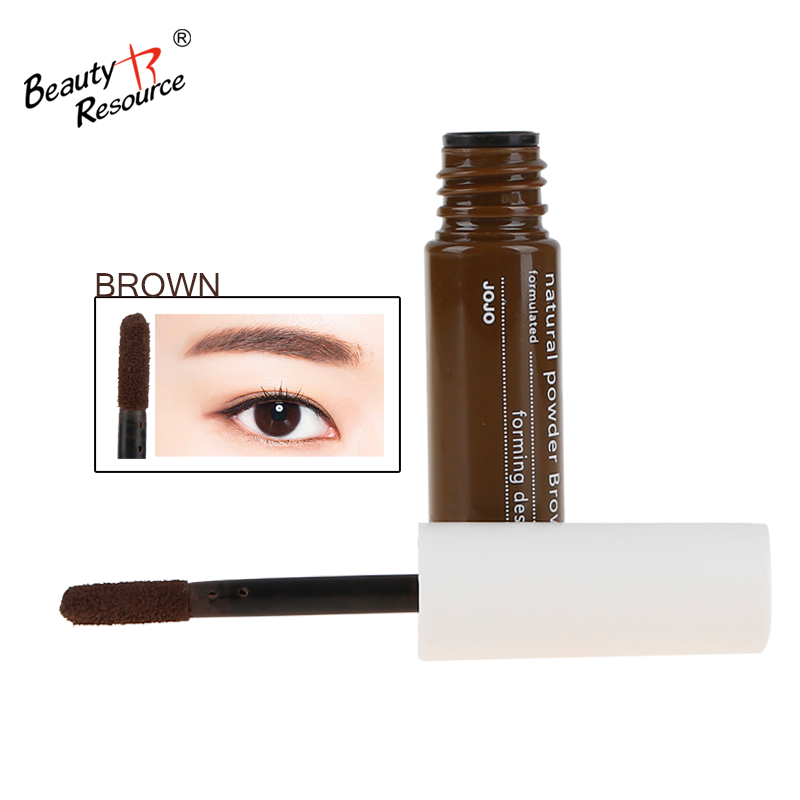 new design type natural soft silky waterpoof easy to scratch private lable eyebrow powder pencil makeup