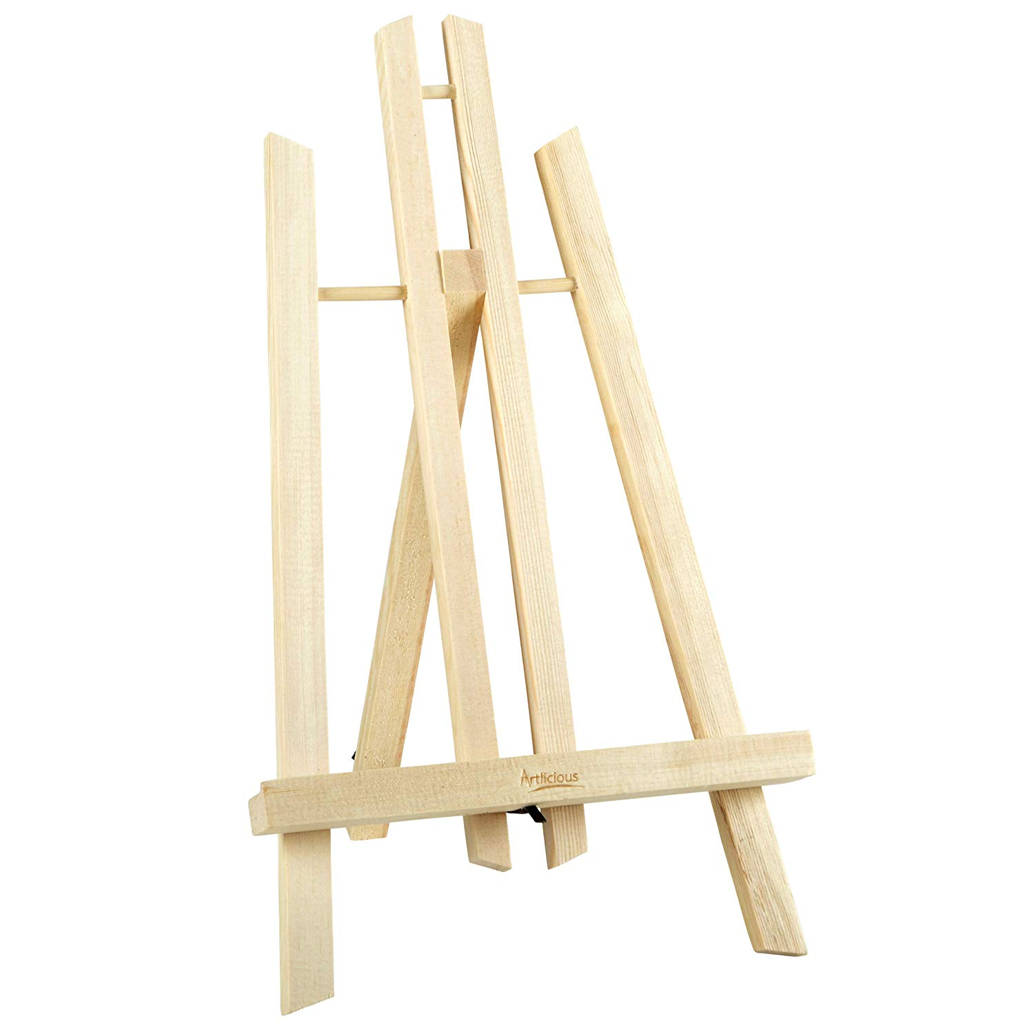"""Artlicious 14"""" A Frame Wooden Easel (14 inch, Wood - 1 Easel)"""