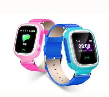 Child popular anti lost Q60 GPS tracker kids smart watch with emergency call