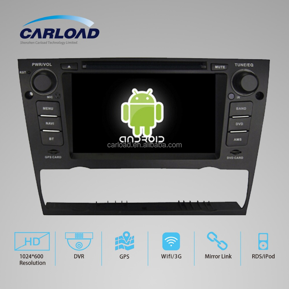 Quad core HD screen 3 din car radio for android BMW 3 series
