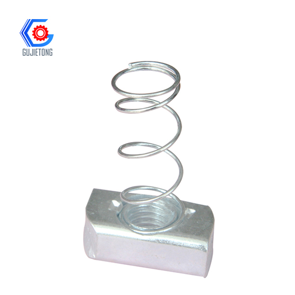 stainless steel spring nut/channel spring nut /cha