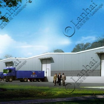 Architecture Plan And Factory Shed Design