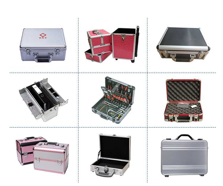 Professional Manufacturer Silver Storage Transport Aluminum case