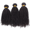 wholesale 3 pieces kinky curly bundle human hair