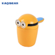 High quality baby bath shower shampoo rinse cup plastic cup