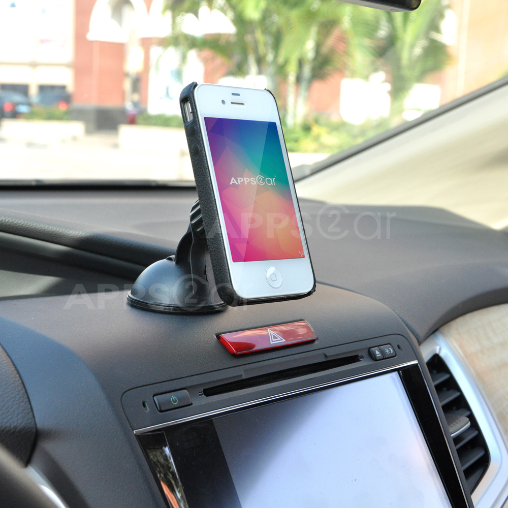 Apps2car magnetic car phone holder suction cup dashboard holder windshield quick snap car mount