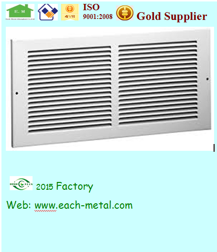aluminum louver frame and window