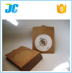 New Arrived Colored Fancy Window Design CD DVD Envelope