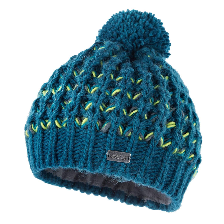 0de4ccd3a61 Get Quotations · Regatta Great Outdoors Womens Ladies Arktik Soft Knit  Bobble Hat
