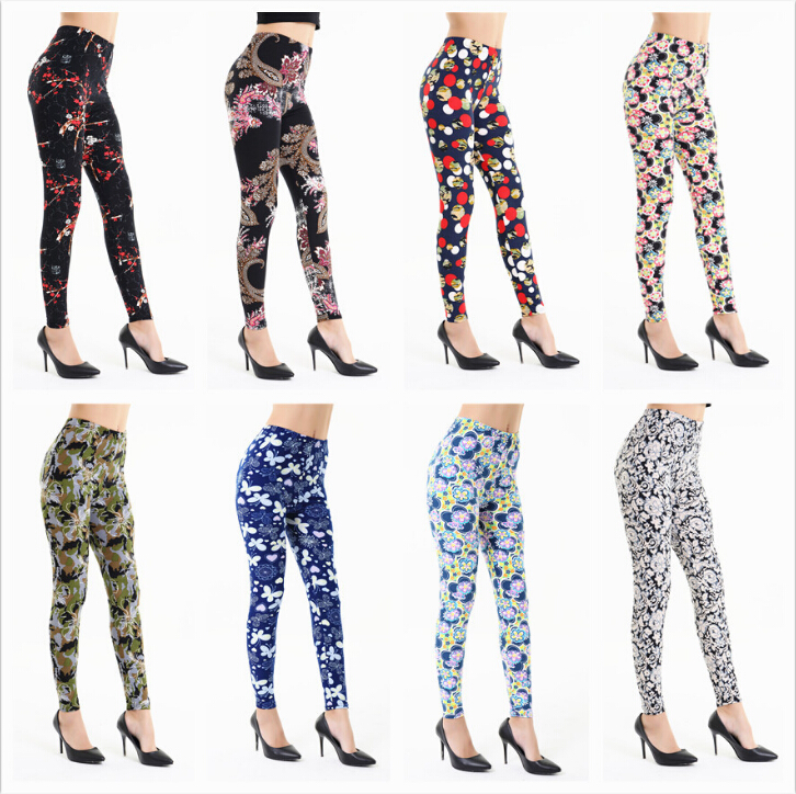 Starry sky digital print custom design legging wholesale tight leggings