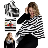 2018 Hot Mother takes care of Baby multifunctional nursing Breastfeeding baby carriage cover scarf