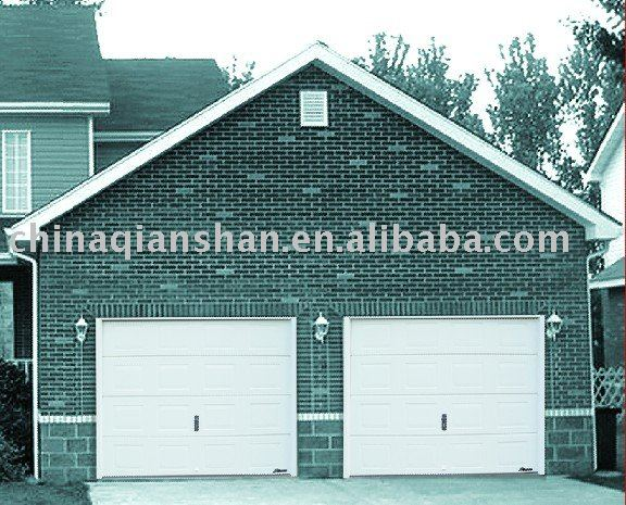 resident sectional garage door with EUR CE