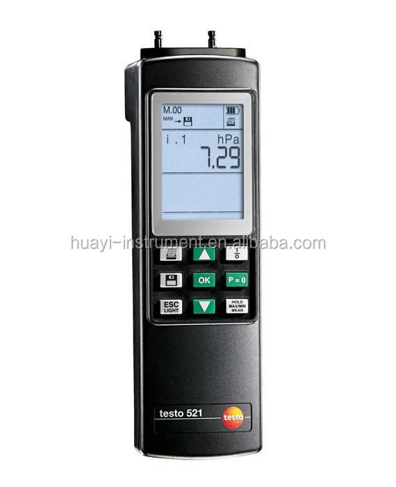 Original Testo 521-3/ 521-2/521-1 Differential Pressure Meter With ...